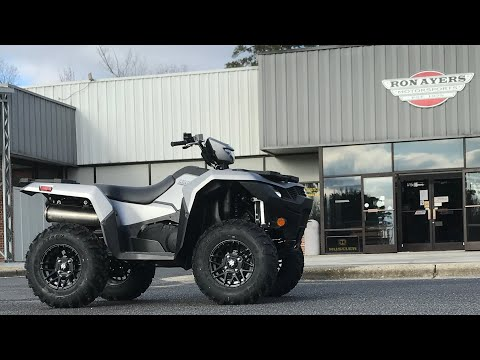 2021 Suzuki KingQuad 500AXi Power Steering SE+ in Greenville, North Carolina - Video 1