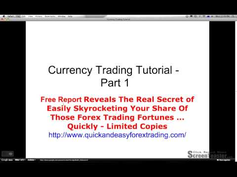 Free Currency Trading Tutorial Report-Trading Basics