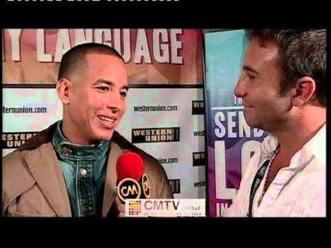 Daddy Yankee video Entrevista Premios Billboards - Mayo 2012