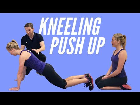 Depth Push-up (on knees)