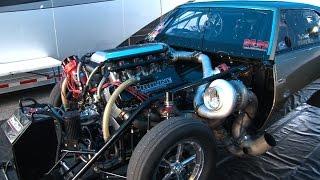 BAD A$$ 4000+hp Twin Turbo CAMARO - 3.95 @210mph!!!
