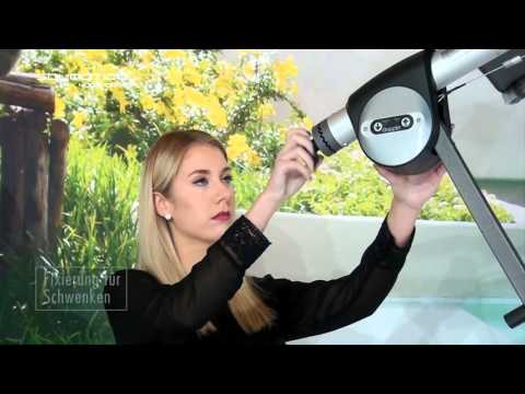 Doppler erster elektrischer Ampelschirm Solmotion 4 m e-drive