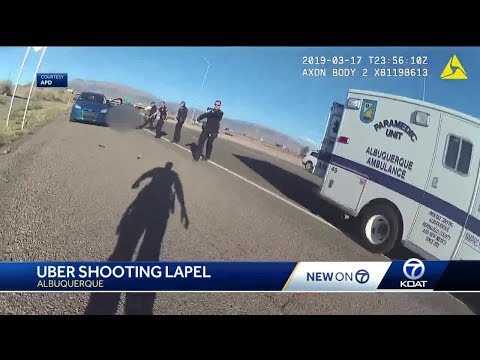 Police body cam shows Uber shooting