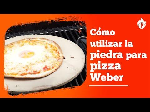 Cómo utilizar el accesorio piedra para pizza