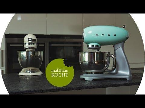 SMEG Küchenmaschine SMF01 - der KitchenAid Killer im Test