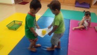 balance game/preschool kids