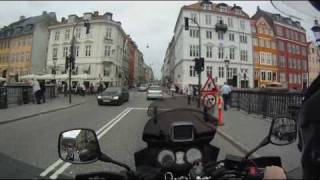 Copenhagen sightseeing by V-strom 650