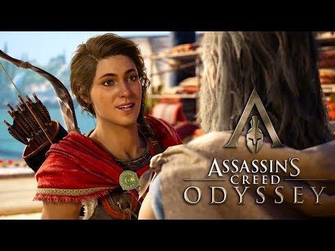 Смотрим на новый Assassin's Creed: Odyssey