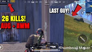 I LOVE THIS GAME!! - PUBG Mobile - Best Weapon Combi