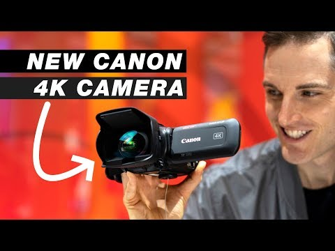 New 4K Canon Camera! First Look at the Canon VIXIA HF G50