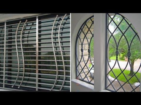 Wrought Iron Window Grill Design 2019 Latest 2