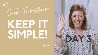 How to Transition from a Bassinet to a Crib! (Nap Week Day 3)