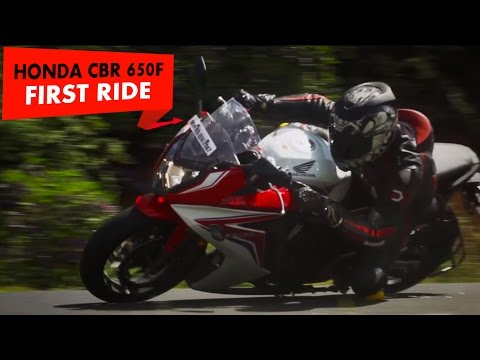Honda CBR 650F : First Impression : PowerDrift