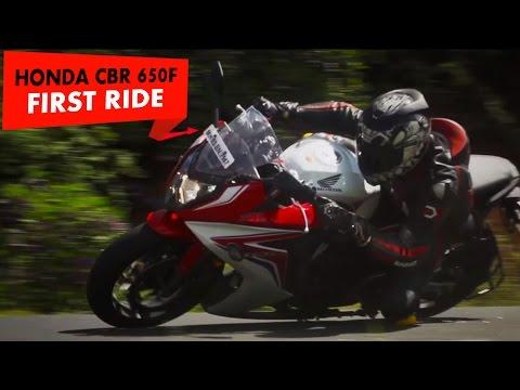 Honda CBR 650F : First Impressions : PowerDrift