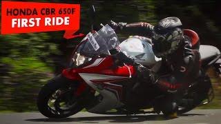 Honda CBR 650F | First Ride | PowerDrift