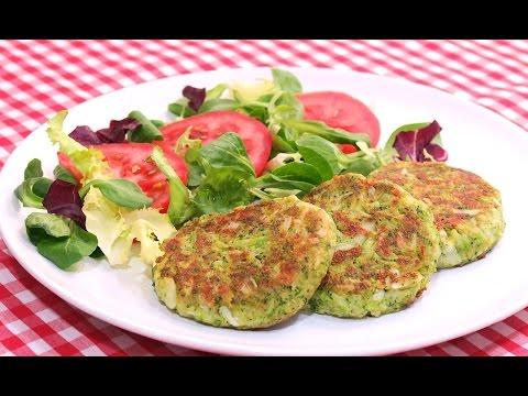 Tortitas de Brócoli Fáciles Rápidas y Saludables