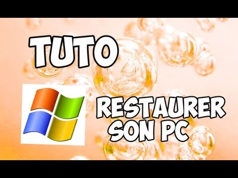comment reparer restauration systeme windows 7