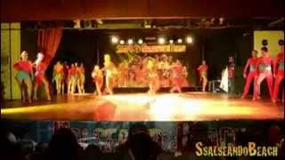 Show Di Mauro Tomatis & The Monsters @ Salseando Beach  2013
