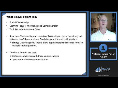 Introduction to the Level I CFA® Program - YouTube