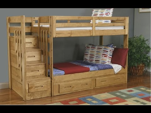 Bunk Bed With Stairs | Build Bunk Bed With Stairs