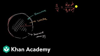 Surface area to volume ratio of cells | Cell structure and function | AP Biology | Khan Academy