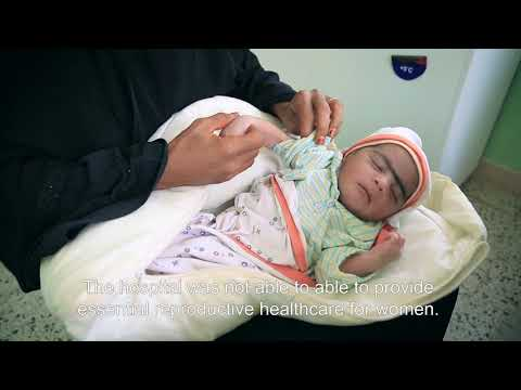 Saving lives during childbirth in rural Al Hudaydah