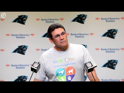 Panthers Rivera on possibility of Kyle Allen being the starting quarterback