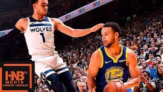 Golden State Warriors vs Minnesota Timberwolves Full Game Highlights | 11.02.2018, NBA Season