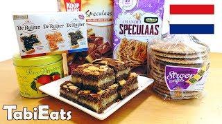 Japanese Try Dutch Snacks & Treats PART 2
