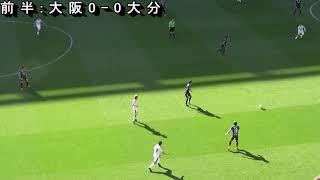 ガンバ大阪 VS 大分トリニータ 2019年Jリーグ第8節
