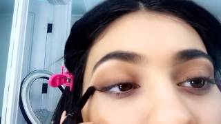 Kylie Jenner Gives A Snapchat Makeup Tutorial Using Her KYShadow FULL VIDEO