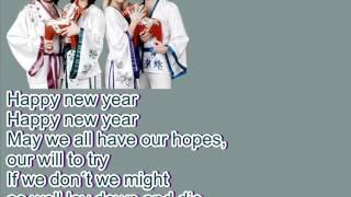 ABBA-Happy New Year (Lyrics)