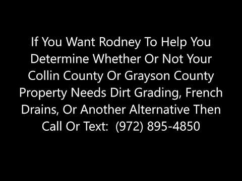 Yard Drainage And French Drains In McKinney, Sherman, Plano, And Collin And Grayson Counties mp3 yukle - mp3.DINAMIK.az