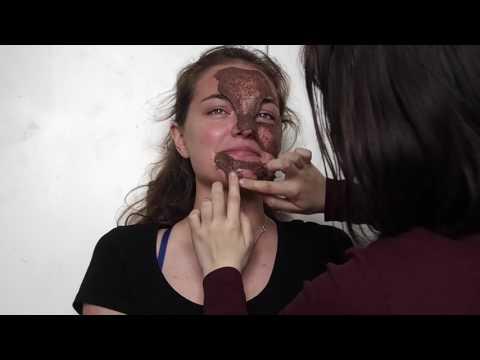 Akvafrut facial mask