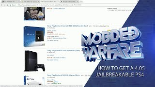 How to get a 4.05 Jailbreakable PS4!