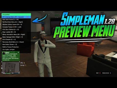 GTA 5 MOD MENU SimpleMan [PS3/1 27/1 28] CEX/DEX + DOWNLOAD