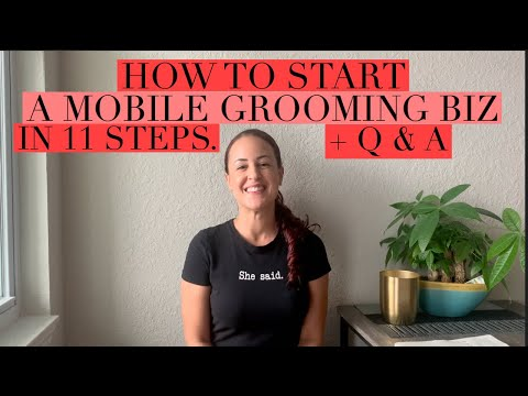 , title : 'HOW I STARTED MY MOBILE GROOMING BUSINESS IN 11 STEPS + BONUS Q&A  🚐💨 🐶 🐱