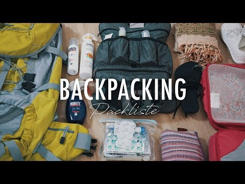 BACKPACKING TIPPS: 2-3 Wochen Südost Asien mit dem RUCKSACK - was nehme ich mit? | SNUKIEFUL