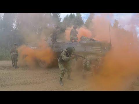 Сквозь огонь и дымовую завесу: кадры учений разведчиков Таманской дивизии под Москвой