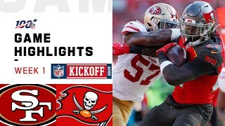 49ers vs. Buccaneers Week 1 Highlights | NFL 2019