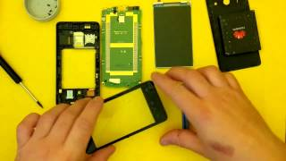 Huawei Y300 touch screen digitizer replacement