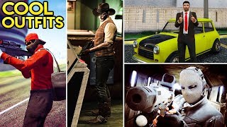 GTA Online Fashion Friday: 10+ Cool Outfits! (The Western Man, Mr Bean, The Stark & More)