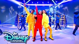 Ravens Home Cast Covers High Hopes 🎶 | Holidays Unwrapped | Disney Channel