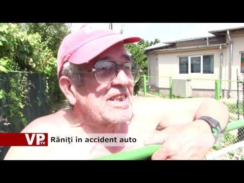 Răniţi în accident auto