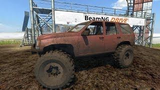 BeamNG Drive Jeep Grand Cherokee Trail Ready Crash Testing #34