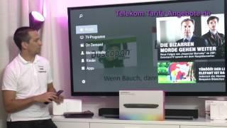 Videorekorder Funktion Telekom EntertainTV mit Media Receiver MR400