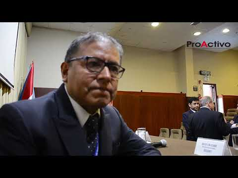 Ing. José Antonio Corimanya - Decano de la facultad FIGMM en la UNI