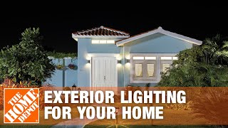 Outdoor Lighting Ideas | Exterior Lighting For Your Home | The Home Depot