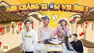 Hai Anh Chàng Xe Ôm Vui Tính - Tập 3 | Hài Tết 2020 | Phim Tình Cảm Hài Hước Gãy TV