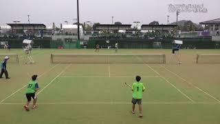 2017ソフトテニスジュニアジャパンカップStep4U-17男子ダブルスネットプレー集